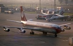 G-AZTG Boeing 707-321 (Irish251) Tags: egkk lgw london gatwick airport uk dan air 707 b703