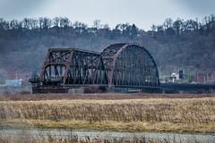 A bridge to nowhere (Piotr_PopUp) Tags: braddock pennsylvania pa pittsburgh monongahela bridge decomissioned rust rusty rustbelt decay abandoned us usa unitedstates industrial steel