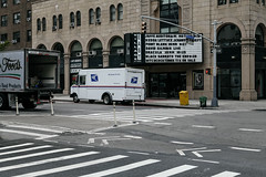 (onesevenone) Tags: onesevenone stefangeorgi newyork newyorkcity city nyc ny america unitedstates eastcoast urban gothamist eastvillage cinema uspstruck truck van usps
