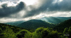 Behold the light (Ron Harbin Photography) Tags: blue ridge parkway north carolina frame full fx outdoor 2017 2018 f14 50mm f28 24mm 70200mm d750 nikon copyright black green tree lightroom diffused light shade natural depth field pictures spring summer autumn fall winter flower grass escape fairytale wonderland forest photographer golden hour travel sun prime storm clearing stormy weather