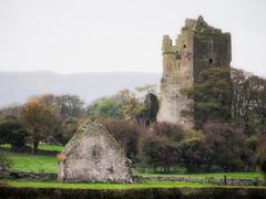 Castle Ruin In The Fog (kckelleher11) Tags: 100300mm 2014 castle ireland olympus em1 fog november panasonic ruin
