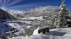Winter in der Heimat, in 5K, DxO (hoangcuongnokia8800) Tags: 500px snow winter snowcapped frozen cold temperature snowdrift frost snowing mountain range steinach am brenner tirol austria höhenweg