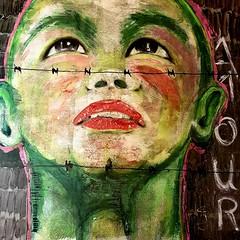 Angelo 12 2019 (franck.sastre) Tags: children face painting picture colors streetart francksastre amour art canvas