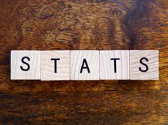 Stats stock photo