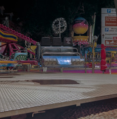 (R.Scottsdale) Tags: nightphotography night negative neon analog building boring bin van v800 color c41 c330 oxford 6x6 exposure twinlensreflex mediumformat mundane medium manual f56 f8 film format focus darkness dark alone afterhours amusement light photography photograph kodak kodakportra400 400 sqaure randy scottsdale shadow