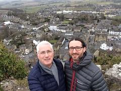 Me and Son (Horsesitch) Tags: steve rich me settle castleberg crag