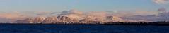 Mt. Esja from Álftanes (Samer Farha) Tags: pano panorama stitched canon 7d iceland reykjavik esja esjan