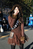 Comiket, Winter 2018 (ジェローム) Tags: comiket comicmarket tokyo odaiba japan japanese girl woman asia asian cosplay cosplayer costume starwars rebels rebelalliance chewie chewbacca wookie