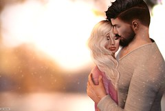 Any Souza & Tonzera Parx (A. Doutzen) Tags: photoshop couple second secondlife art angel virtual avatar