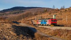 HZ 7122 013, Vojnovac (josip_petrlic) Tags: hž hrvatske željeznice croatian railways train locomotive železnice željeznica zeleznice eisenbahn ferrovia railroad lika 7122 šved šveđan dmu diesel hz