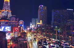 Always busy Las Vegas Strip