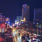 Always busy Las Vegas Strip thumbnail