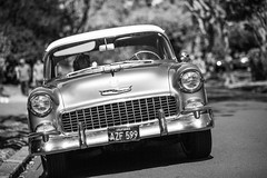 Back in the Day (Thomas Hawk) Tags: 4thofjuly america california chevrolet chevy eastbay fourthofjuly holiday independanceday july4 july4th piedmont usa unitedstates unitedstatesofamerica auto automobile bw car parade fav10 fav25 fav50 fav100