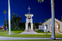 Community Presbyterian Church, 407 Royal Palm Avenue, Clewiston, Florida, USA / Built: 1950 (Photographer South Florida) Tags: communitypresbyterianchurch 407royalpalmavenue clewiston florida usa built1950 city cityscape urban downtown skyline hendrycounty centralbusinessdistrict building architecture commercialproperty cosmopolitan metro metropolitan smallcity sunshinestate realestate lakeokeechobee lakeokeechobeescenictrail atlanticcoastalplain historical southbank street clewistoninn 108royalpalmavenue 1938 classicalrevival addednrhp1991 historicsite usroute27 bell belltower