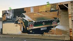 Mustang (1967 Fast Back) by Camilo Pardo (wiredforlego) Tags: graffiti mural streetart urbanart aerosolart publicart detroit michigan dtw mitm camilopardo easternmarket