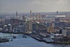 (Uno100) Tags: rotterdam sky line scraper ss kop zuid maas kuip erasmus brug bridge 2019 boat charlois crane deloitte