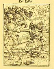 This image is taken from Page 53 of Der Todtentanz von H. Holbein, nach dem Exemplare der ersten Ausgabe im Kgl. Kupferstich-Cabinet zu Berlin in Lichtdruck nachgebildet (Medical Heritage Library, Inc.) Tags: dance death rcplondon ukmhl medicalheritagelibrary europeanlibraries date1879 idb22651263