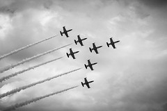 La Breitling Jet Team... (AirPic's) Tags: breitling team sky avion plane nuages clouds ciel show montre watch legendary legendaryfuture squadonmission airshow airplane fly photography photographer art