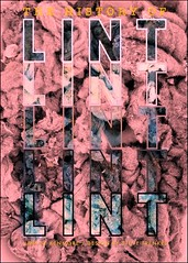 THE HISTORY OF LINT | Imaginary Book Cover II (steveartist) Tags: graphicdesign photography typedesign stevefrenkel iphonese snapseed bookcover imaginarybookcover lint thehistoryoflint kenmoredryer pinklint outlinetype typewriterstyletype