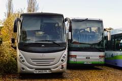 Portsmouth City Coaches (PD3.) Tags: emsworth bus buses coach psv pcv southourne clovelly road havant west sussex hampshire hants england uk portsmouth city coaches yj05pvx yj05 pvx vanhool van hool sn55fpl sn55 fpl mercedes benz