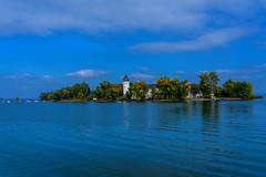 Fraueninsel Chiemsee (Jutta Achrainer) Tags: achrainerjutta chiemsee fe24105mmf4goss sonyalpha7riii fraueninsel see himmel blau wasser