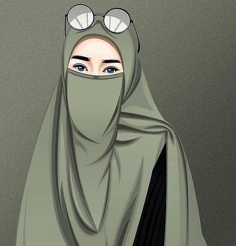 Gambar Kartun Muslimah Modern A Photo On Flickriver