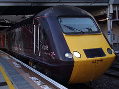 Arriva CrossCountry Class 43 43285 (Alex S. Transport Photography) Tags: outdoor vehicle birminghamnewstreet class43 arriva crosscountry db locomotive diesel intercity125 highspeedtrain hst 1v54 43285