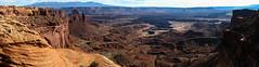 Canyonlands Panoramic (Noble Silence) Tags: usa unitedstates utah canyonlandsnationalpark nationalparksofutah mesaarch panoramicphotography