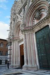 Detail, Duomo, Siena  Door (Tatiana12) Tags: siena italy façade duomo sienacathedral church architecture sculpture
