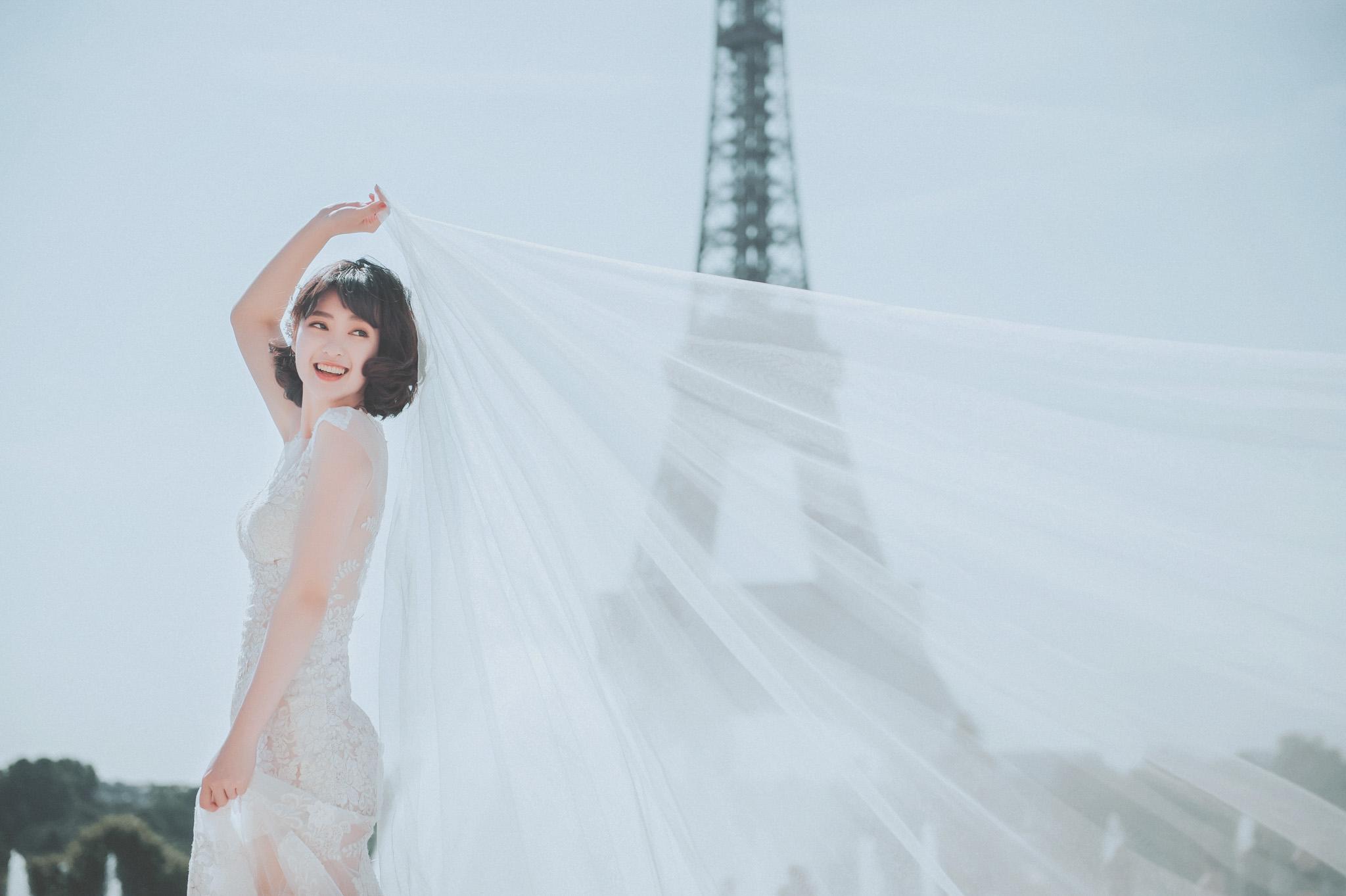 EW Easternwedding JMH 婚攝 居米 婚紗 法國 巴黎 Paris