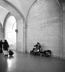 Classical (Demmer S) Tags: music cello performance streetmusician musician cellist performer classical design architecture architectural arches building arch streetphotography people pedestrian peoplewatching shootthestreet streetlife streetshots documentary citylife person urban city urbanphotography streetscene urbanexploration commuters tourists transportation traveling vacation travel trip holiday tourist commuter inside interior indoors sitting walking streetperformer grandcentralterminal landmark midtownmanhattan midtown transportationhub historic grandcentral trainstation train trains subway concourse ny newyork nyc newyorkcity manhattan eastcoast bw monochrome blackwhite blackandwhite blackwhitephotos blackwhitephoto