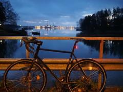 2018 Bike 180: Day 250, November 14 (olmofin) Tags: 2018bike180 finland helsinki bicycle polkupyörä bridge lehtisaari kuusisaari seurasaarenselkä ruoholahti lumix 20mm f17