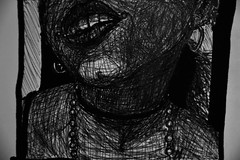 Horhizome 08 (onesecbeforethedub) Tags: vilem flusser technical images onesecbeforetheend onesecbeforethedub onesecaftertheend vassilis galanos quickart quickdraw quicksketch art artistic artist illustration sketch drawing woman dark darkness darkart goth gothic gothicart gothmoth gothgoth girl