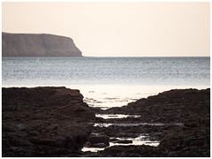 The Bay_B121444 (HJSP82) Tags: 20181112ravenscar bay rocks cliffs stones shore coast