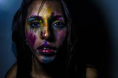 Crayshay Portrait Series 20 of 21 (Jef Harris) Tags: crayons mask portrait creativemakeup makeupartist beauty beautymua ottawacanada model nikond7000 submission mua fashion makeupupoftheday myartistcommunitycanada facepainting art