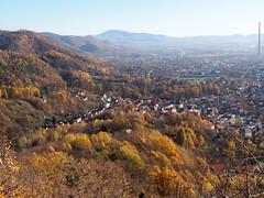 a Veresvíz / the Valley (debreczeniemoke) Tags: ősz autumn erdő forest wood fa tree hegy mountains völgy valley város city nagybánya baiamare november tájkép landscape olympusem5