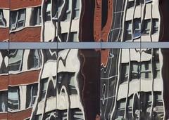 Distorsion (carlos_ar2000) Tags: ventana window reflejo reflected reflection distorsion distortion vidrio glass surreal abstracto abstract buenosaires argentina