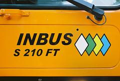 Logo Inbus (maximilian91) Tags: inbuss210ft inbuss210 inbus oldbuses vintagebuses italianbuses italia italy liguria laspezia ektar100 35mm analogue nikonfe