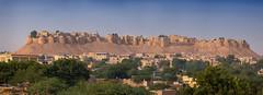 Jaisalmer Fort (Janet Marshall LRPS) Tags: jaisalmer livingfort unesco unescoworldheritagesite ramparts citywalls panorama