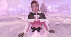 【forever winter】 (Sooyun Ichtama) Tags: secondlife sl pink winter barberyumyum belleposes cakeinc cuteordie ersch mudskin piad suicidalunborn wednesday collabor88 girlpower