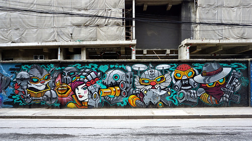 Graffiti in Shanghai 2018