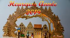 Voeux Nouvel An 2019 (saigneurdeguerre) Tags: europe europa belgique belgië belgien belgium belgica bruxelles brussel brüssel brussels bruselas bruxelas happynewyear bonneetheureuseannée2019 felizanonovo antonio ponte saigneurdeguerre aponte