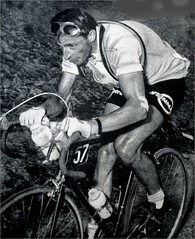 1954 TDF The Great Ferdi Kübler (Sallanches 1964) Tags: tourdefrance 1954 ferdikübler tourdefrancewinners worldchampionroadcycling aubisque mountainstage