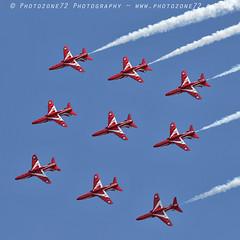 8287 Diamond (photozone72) Tags: eastbourne airshows aircraft airshow aviation raf canon canon7dmk2 canon100400f4556lii 7dmk2 rafat redarrows reds hawk diamond