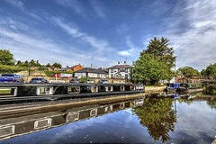 Llangollen Canal, North Wales (MarkWoods2) Tags: llangollencanal northwales uk reflections boats