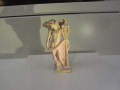 Orpheus, CaixaForum, Madrid, June 2018 (d.kevan) Tags: exhibitions caixaforum ancientinstruments displaycabinets june2018 madrid spain exhibits figures orpheus lyres