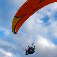 selfie gliding | puerto de la cruz (John FotoHouse) Tags: puertodelacruz tenerife selfie paragliding square squareformat sky dolan flickr fujifilmx100s fuji johnfotohouse johndolan leedsflickrgroup copyrightjdolan canaries