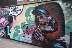 Graffiti in the Brick Lane area of Shoreditch (Ian Press Photography) Tags: graffiti brick lane shoreditch london art street streetart tom blackford creative differences