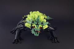 Nui - Meko - 02 (Gamma-Raay) Tags: lego legomoc bionicle lizzard green black creature monster rahi alien