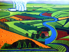 A View From Thames Valley To Didcot Powerstation (contemporaryartists) Tags:
